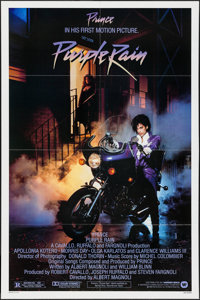 "Purple Rain (Warner Brothers, 1984). One Sheet (27"" X 41""). Rock and Roll"