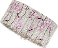 Estate Jewelry:Bracelets, Pink Sapphire, Diamond, Enamel, Platinum Bracelet, Tiffany & Co.. ...
