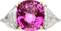 Estate Jewelry:Rings, Pink Sapphire, Diamond, Platinum, Gold Ring, Tiffany & Co.. ...