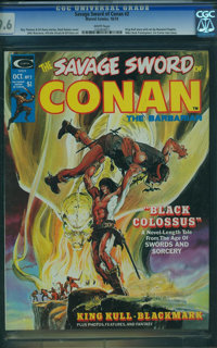 Savage Sword of Conan #2 (Marvel, 1974) CGC NM+ 9.6 White pages