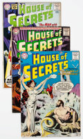 Silver Age (1956-1969):Horror, House of Secrets Group of 8 (DC, 1957-63) Condition: Average FN....(Total: 8 Comic Books)