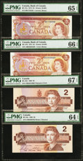 Canadian Currency: , An Offering of Canadian Material.. ... (Total: 4 notes)