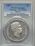 Coins of Hawaii , 1883 $1 Hawaii Dollar -- Cleaning -- PCGS Genuine. AU Details. NGCCensus: (32/196). PCGS Population: (71/218). CDN: $800 W...