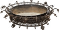 Decorative Arts, Continental, A Large Régence-Style Wrought Iron Jardinière, early 20th century. 16 h x 42 w x 52 d inches (40.6 x 106.7 x 132.1 cm). ...