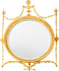 Furniture, A Regency-Style Giltwood Mirror, early 20th century. 43 h x 31 w x 2 d inches (109.2 x 78.7 x 5.1 cm). ...