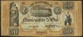 Obsoletes By State:Louisiana, New Orleans, LA- Municipality No. One $50 Oct. 30, 1837 Remainder. ...
