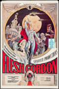 "Movie Posters:Sexploitation, Flesh Gordon (Mammoth Films, 1974). Poster (23"" X 35"").Sexploitation.. ..."