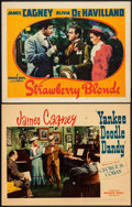 """Movie Posters:Musical, Yankee Doodle Dandy & Other Lot (Warner Brothers, 1942). Linen Finish Lobby Card & Lobby Card (11"""" X 14""""). Musical.. ... (Total: 2 Items)"""