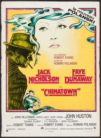 "Chinatown (CIC, 1974). French Petite (16.25"" X 22.5""). Mystery"