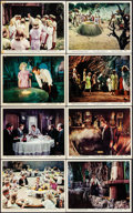 """Movie Posters:Science Fiction, The Time Machine (MGM, 1960). Color Photo Set of 12, Photo, and British Front of House Color Photo (8"""" X 10""""). Science Ficti... (Total: 14 Items)"""