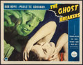 """Movie Posters:Comedy, The Ghost Breakers (Paramount, 1940). Lobby Card (11"""" X 14"""").Comedy.. ..."""