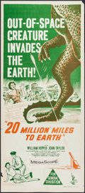 """Movie Posters:Science Fiction, 20 Million Miles to Earth (Columbia, 1957). Australian Daybill(13.25"""" X 30""""). Science Fiction.. ..."""