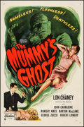 "Movie Posters:Horror, The Mummy's Ghost (Realart, R-1948). One Sheet (27"" X 41"").Horror.. ..."