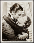 """Movie Posters:Academy Award Winners, Clark Gable and Vivien Leigh in Gone with the Wind (MGM, 1939).Portrait Photo (8"""" X 10""""). Academy Award Winners.. ..."""