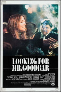 "Looking for Mr. Goodbar & Other Lot (Paramount, 1977). One Sheet (27"" X 41"") & Video One Sheet (26.75&..."