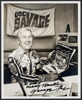 """Movie Posters:Animation, George Pal (1970s). Autographed Photo (8"""" X 10""""). Science Fiction.. ..."""