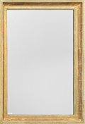 Furniture, A Neoclassical-Style Carved Giltwood Mirror, early 20th century. 47 h x 32-1/2 w x 3 d inches (119.4 x 82.6 x 7.6 cm). ...