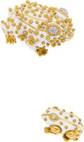 Estate Jewelry:Brooches - Pins, Diamond, Enamel, Gold Brooches, David Webb. ...