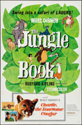 """Movie Posters:Animation, The Jungle Book/Charlie, the Lonesome Cougar Combo & Others Lot (Buena Vista, 1967). One Sheets (3) (27"""" X 41""""). Animation.... (Total: 3 Items)"""