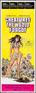 """Movie Posters:Fantasy, Creatures the World Forgot (Columbia, 1971). Insert (14"""" X 36""""). Fantasy.. ..."""