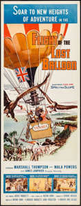 "Movie Posters:Adventure, Flight of the Lost Balloon (Woolner Brothers, 1961). Insert (14"" X36""). Adventure.. ..."