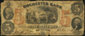 Obsoletes By State:New Hampshire, Rochester, NH- Rochester Bank Spurious $5 Oct. 1, 1862. ...