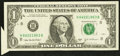 Error Notes:Attached Tabs, Fr. 1931-H $1 2003A Federal Reserve Note. Very Fine-ExtremelyFine.. ...