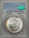 Morgan Dollars: , 1882-S $1 MS65+ PCGS. CAC. PCGS Population: (18200/5774 and 227/245+). NGC Census: (18879/8286 and 188/225+). CDN: $150 Whs...
