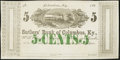 Obsoletes By State:Kentucky, Columbus, KY- Sutler's Bank of Columbus, KY 5¢ 186_ Remainder. ...
