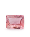 Gems:Faceted, Gemstone: Tourmaline - 4.3 Ct.. Brazil. 10 x 7.7 x 5.2mm. ...