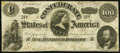 Confederate Notes:1862 Issues, CSA - T-49 1862 $100 Fine.. ...