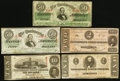 Confederate Notes:1863 Issues, CSA - Lot of 5 April 6, 1863 Notes.. ... (Total: 5 notes)