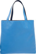 Luxury Accessories:Bags, Hermes Blue Paradis & Blue Saphir Swift Leather Double Sens GMReversible Tote Bag. R Square, 2014. Excellent to Pristine...