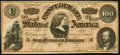 Confederate Notes:1864 Issues, CSA - T-65 1864 $100 AU.. ...