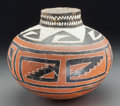 American Indian Art:Pottery, A Four Mile Polychrome Jar . c. 1100 - 1300 AD...