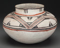 American Indian Art:Pottery, A Zuni (Kechipawan) Polychrome Jar . c. 1375 - 1475...
