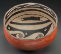 American Indian Art:Pottery, A Gila Pictorial Polychrome Jar. c. 1300 - 1450...