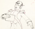 Animation Art:Production Drawing, The Autograph Hound Charles Boyer Animation Drawing (WaltDisney, 1939)....