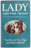 Memorabilia:Disney, Lady and the Tramp First Edition Hardcover Book (Simon and Schuster, 1953) Condition: FN/VF....