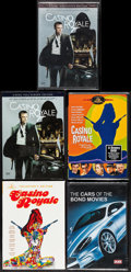 Movie Posters:James Bond, Casino Royale & Other Lot (Various, 2002-2008). Region 1 DVDs(2), Unopened Region 2 DVDs (2) & Unopened Region Free DVD(5.... (Total: 5 Items)