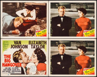 """The Big Hangover (MGM, 1950). Title Lobby Card & Lobby Cards (3) (11"""" X 14""""). Comedy. ... (Total: 4 Items)"""