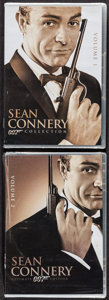 "Movie Posters:James Bond, James Bond: The Sean Connery Collection Lot (20th Century Fox,2010/2012 ). Unopened Region 1 DVDs (2) (5.25"" X 7.5""). James...(Total: 2 Items)"