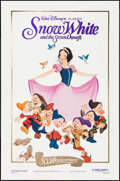 "Movie Posters:Animation, Snow White and the Seven Dwarfs & Other Lot (Buena Vista,R-1987). 50th Anniversary One Sheet & One Sheet (27"" X 41"").Anima... (Total: 2 Items)"