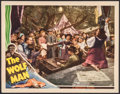 """Movie Posters:Horror, The Wolf Man (Universal, 1941). Lobby Card (11"""" X 14""""). Horror.. ..."""
