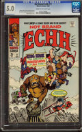 Silver Age (1956-1969):Humor, Not Brand Echh #11 (Marvel, 1968) CGC VG/FN 5.0 Cream to off-white pages.