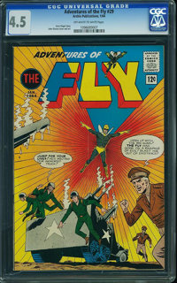 Adventures of the Fly #29 (Archie, 1964) CGC VG+ 4.5 Off-white to white pages
