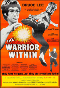 """The Warrior Within & Other Lot (Cineworld, 1976). One Sheet (25"""" X 37"""") & Mini Poster (9"""" X 14&qu..."""