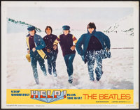 "Help! (United Artists, 1965). Lobby Card (11"" X 14""). Rock and Roll"