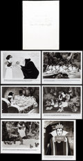 "Movie Posters:Animation, Snow White and the Seven Dwarfs (Buena Vista, R-1983). Presskit (9"" X 12""). Animation.. ..."