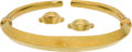 Estate Jewelry:Suites, Gold Jewelry Suite, Lalaounis. ... (Total: 3 Items)